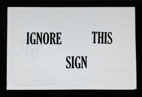 ignore-sign