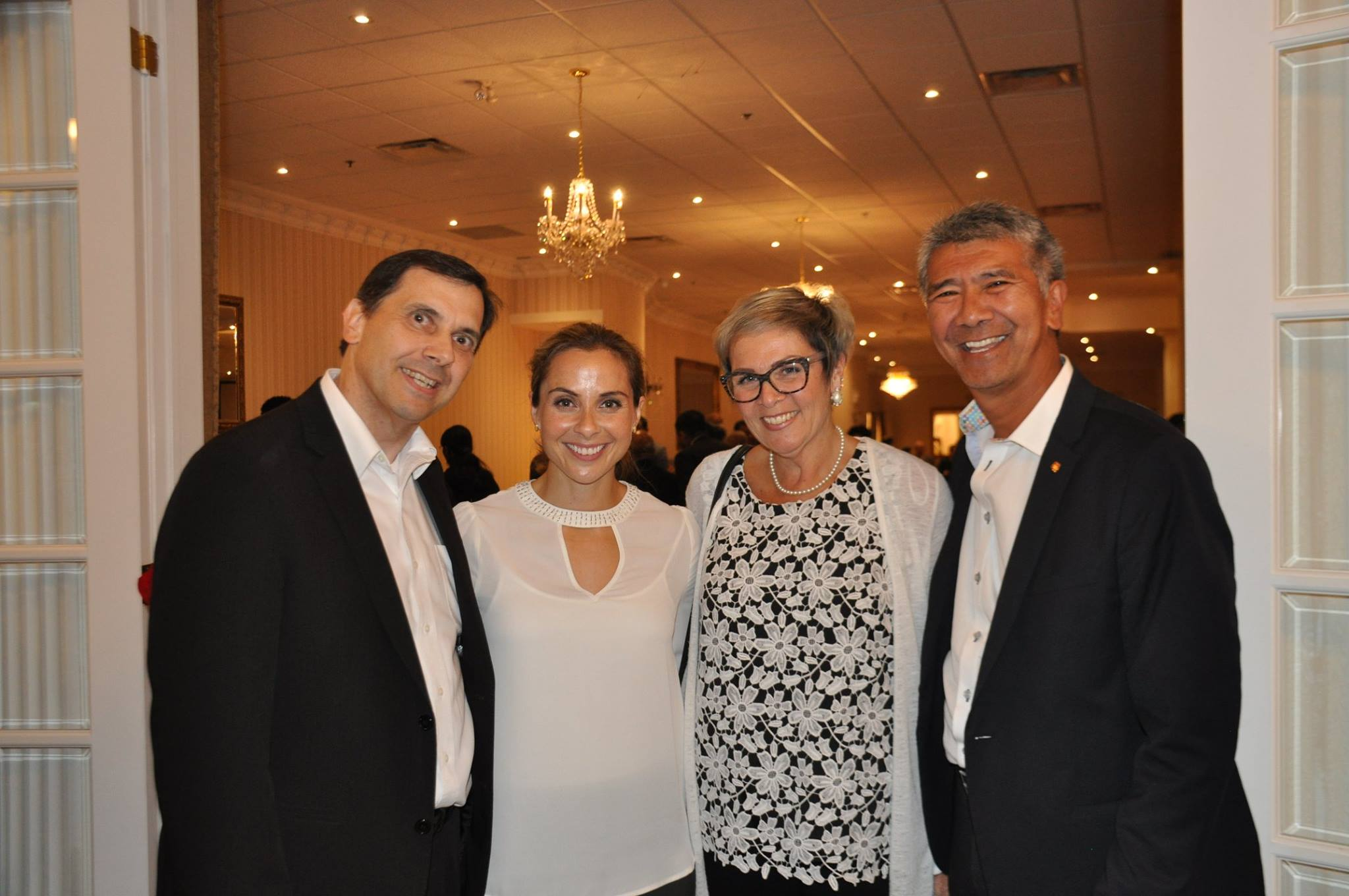 Appreciation with Andi Petrillo and Clarington Deputy Mayor Willie Woo